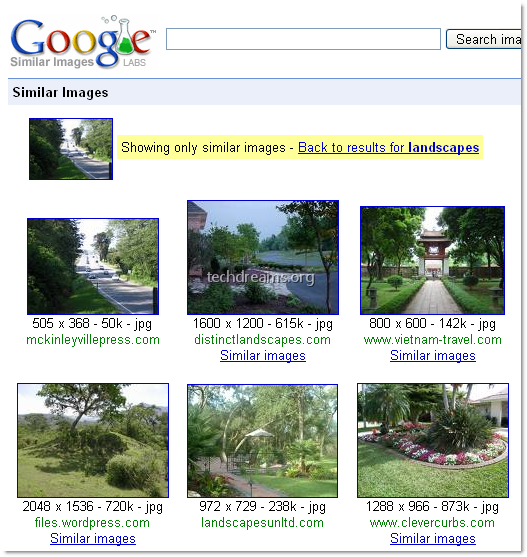 similar image search google. See the below screenshot of Google Similar images search results